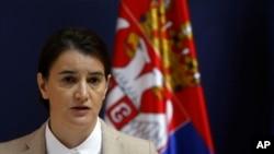 Premijerka Srbije Ana Brnabić , Foto: AP Photo/Darko Vojinović