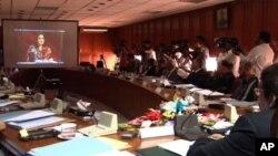 فل کورٹ اجلاس کا ایک منظر