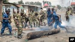 Militares do Burundi
