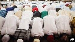 Musulmi na sallar Idi