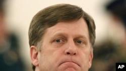美國駐俄羅斯新任大使邁克爾.麥克福爾