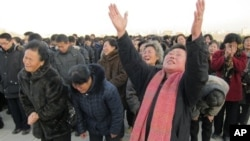 Северная Корея оплакивает Ким Чен Ира.