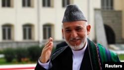 Presiden Afghanistan Hamid Karzai akan melawat ke Pakistan, Senin, 26 Agustus 2013 (Foto: dok).