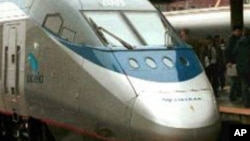 L'Acela Express de la compagnie Amtrak
