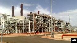 Газовый комплекс в Алжире, на который 16 января 2013 года напали исламистские террористы