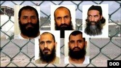 عکس آرشیو - پنج زندانی طالب در بدل رهایی یک سرباز امریکایی رها شد و گفته شده که یکی آنان با شبکۀ حقانی تماس گرفته باشد