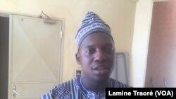 Harouna Kadio, conseiller technique du ministre de la Santé, Ougadougou, 7 décembre 2018. (VOA/Lamine Traoré)