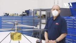 Український інженер став співрозробником гелікоптера для польотів на Марсі. Відео
