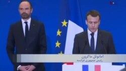"""امانوئل ماکرون: فرانسه یک """"قهرمان ملی"""" را از دست داد"""