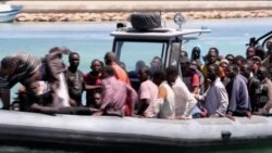 100 African Migrants Rescued, 3 Dead After Boat Sinks, Garabulli, Libya