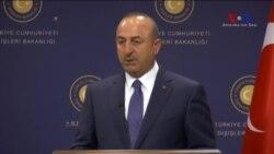 """Çavuşoğlu: """"Sorunlar Barışçıl Yoldan Aşılsın"""""""