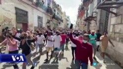 Presidenti Biden shpreh mbështetjen për popullin e Kubës