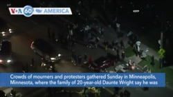 VOA60 Ameerikaa - Protests Erupt in Minnesota After Police Shooting
