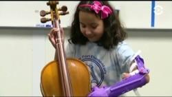 Протез для игры на виолончели