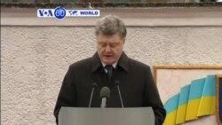 VOA60 DUNIYA: 'Yan Aware da Sojojin Ukraine Na Janye Makamai, Fabrairu 27, 2015