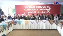 Vicdan Konvoyu Suriye'de Hapisteki Kadınlar İçin Sınıra Gidiyor