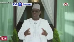 """VOA60 AFIRKA: Shugaban Kasar Senegal Macky Sall Ya Yi Kira Da A """"Daina Rikici"""" Tsakanin Isra'ila da Falasdinawa"""
