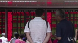中国股市周二再度崩盘