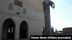 ISIS လက္ခ်က္နဲ႔ ပ်က္စီးသြားတဲ့ ဆီးရီးယားႏိုင္ငံ၊ Tall Maruf ၿမိဳ႕က ကာ့ဒ္ ဗလီ။