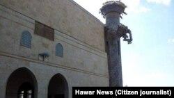 Mizgefta Xiznewî ji alîyê Dewleta Îslamî ya Îraq û Şam hate peqandin