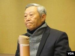 淡江大學大陸研究所榮譽教授趙春山(美國之音張永泰拍攝)