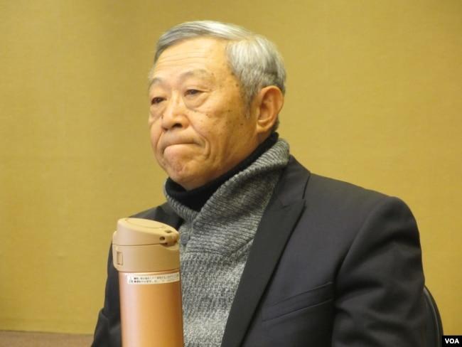 淡江大学大陆研究所荣誉教授赵春山(美国之音张永泰拍摄)