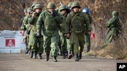 2019年11月9日亲俄罗斯叛军在乌克兰佩特里夫斯克郊外
