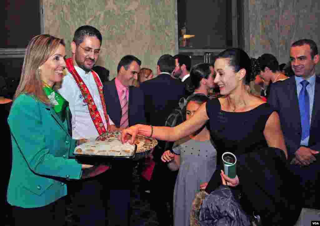 Η σεφ Κατερίνα Στάη, η οποία παρουσίασε αυθεντικές, ελληνικές και υγιεινές συνταγές για παιδιά