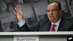 HSBC Group Chief Executive Stuart Gulliver.