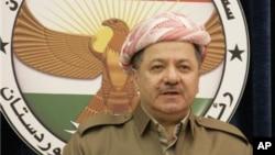 Serokê Herêma Kurdistanê Mesûd Barzanî.