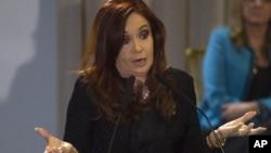 La presidenta argentina Cristina Fernández está interesada en reformar la Constitución para reelegirse.