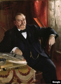 Grover Cleveland, painting by Anders Leonard Zorn