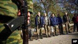 Các tù nhân Ukraine được Nga trao trả năm 2015
