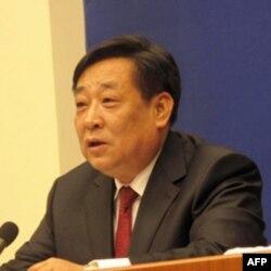 中国环保部副部长张力军