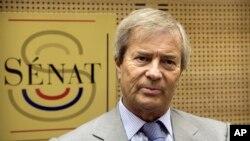 Vincent Bolloré, lors d'une audience au Sénat, Paris, France, 22 juin 2016.