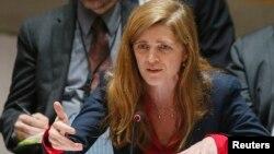 Đại sứ Mỹ tại Liên Hiệp Quốc Samantha Power.