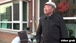 張達 - 志願軍前戰俘(視頻截圖)