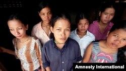 Cambodian prostitutes. (File)