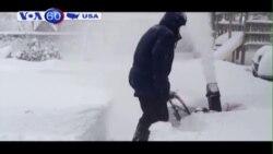 Hơn 1,5 mét tuyết trút xuống vùng đông bắc của Mỹ (VOA60)