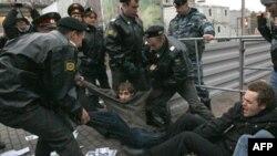 Задержания на Триумфальной площади 11 октября 2011г.