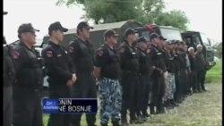 Trupat shqiptare ne ndihme te civileve ne Bosnje