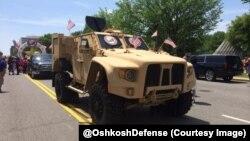 Oshkosh JLTV на параді у Вашингтоні. Травень 2015