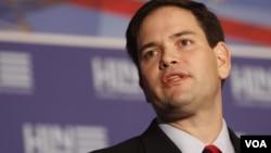 El nombre de Marco Rubio estuvo entre los mencionados como posibles compañeros de Romney en la boleta presidencial republicana.