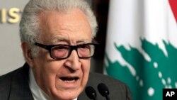 聯合國與阿拉伯聯盟的敘利亞問題特使卜拉希米