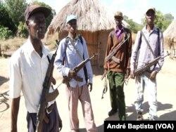 Guerrilheiros da Renamo contra Ossufo Momade