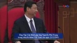 Chủ tịch Trung Quốc thăm Việt Nam giữa căng thẳng Biển Đông