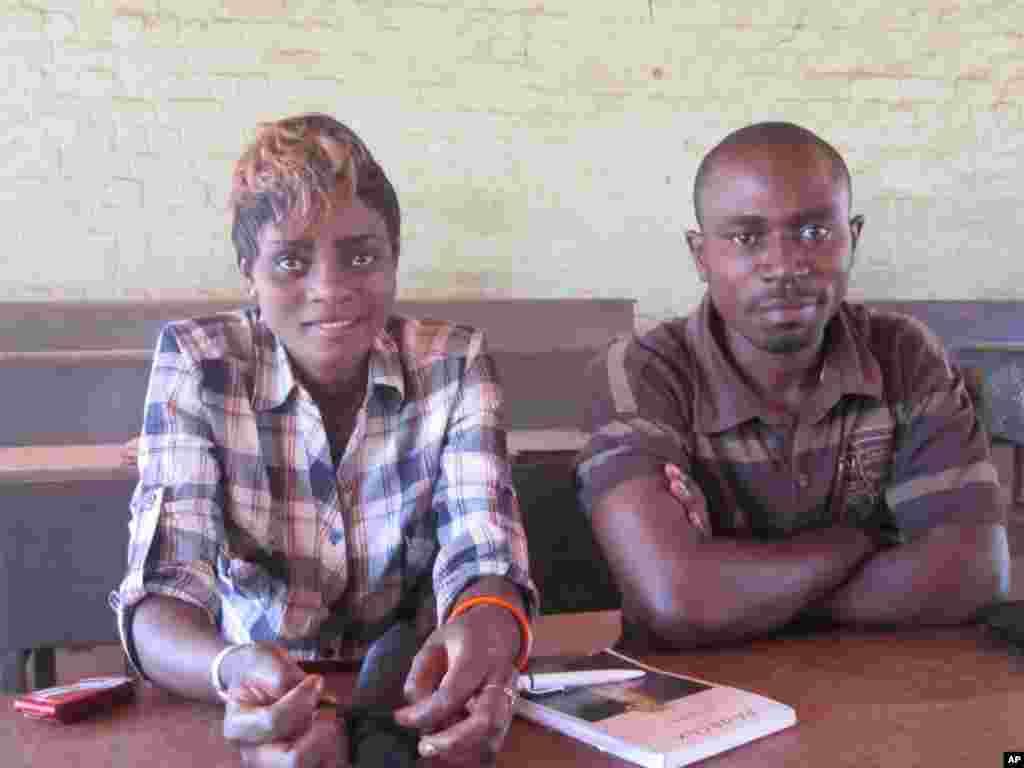 Etudiants de l'universite de Lubumbashi Novembre 2011