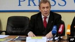 Глава представительства Amnesty International в РФ Сергей Никитин