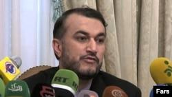 عکس آرشیوی از حسین امیر عبداللهیان معاون عربی و آفریقای وزیر امور خارجه ایران