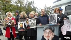 Anna Politkovskaya Rally in Moscow Oct 7, 2012